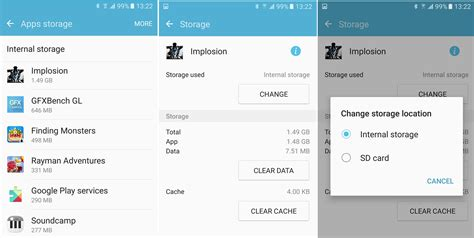 How to free storage by moving apps to the microSD memory
