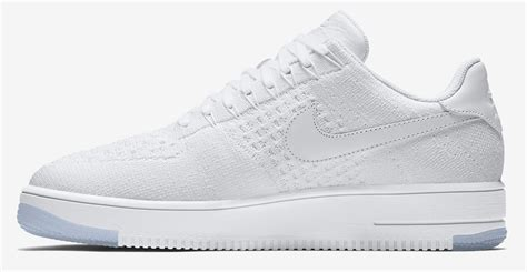 Nike Flyknit Air Force 1 Low - White / White
