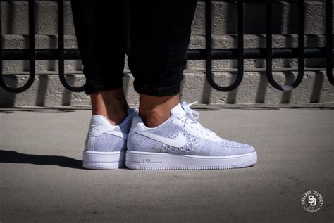 Nike Air Force 1 Ultra Flyknit Low - Cool Grey / White