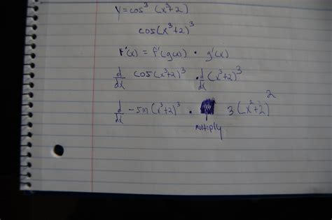 calculus - Find the Derivative and simplify (write w/o