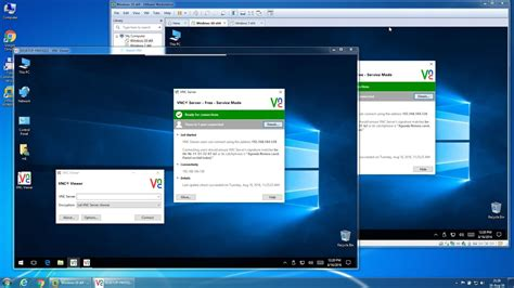 How to install and test RealVNC using VmWare Workstation