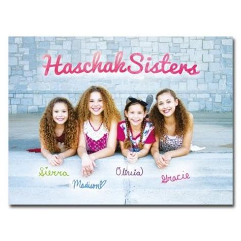 18 x 24 Poster Haschak Sisters 18 x 24 Poster - white