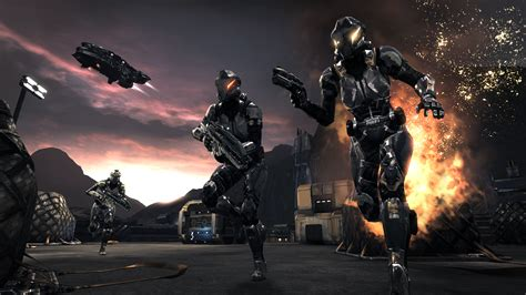 Dust 514 successfully merged with Eve online -- open beta