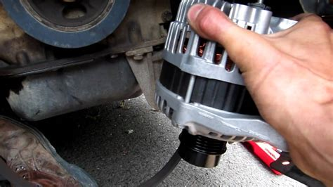 Jeep Compass Alternator Replacement - YouTube