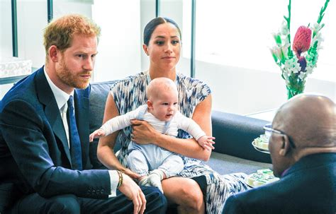 Meghan Markle and Prince Harry Take Archie to His First
