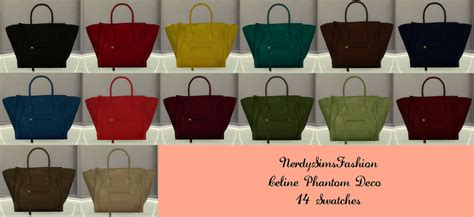 Sims 4 CC's - The Best: Bag by NerdySimsFashion
